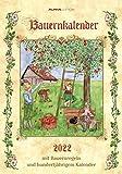 Bauernkalender 2022 - Bildkalender 23,7x34 cm - mit Wetterprognosen, Bauernregeln und liebevollen Illustrationen - Wandkalender - Alpha Edition: Mit Bauernregeln und hundertjährigem Kalender