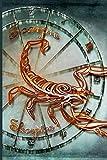 Skorpion Sternzeichen Notizbuch: 150-seitiges Logbuch für Skorpion Männer Frauen Kinder ... Tagebuch Ihres Lebens. Perfekt, um Ihre persönliche ... zu begleiten. Notizbuch mit weichem Einband