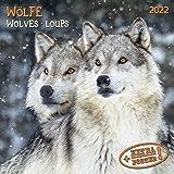 Wolves/Wölfe 2022: Kalender 2022 (Artwork Media)