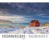 Norwegen 2021 - Bild-Kalender XXL 60x50 cm - Norway - Landschaftskalender - Natur-Kalender - Wand-Kalender - Alpha Edition