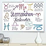 Sternzeichen-Kalender (Premium, hochwertiger DIN A2 Wandkalender 2021, Kunstdruck in Hochglanz)