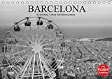 Barcelona Schwarz/Weiß Impressionen (Tischkalender 2021 DIN A5 quer)