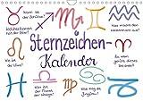 Sternzeichen-Kalender (Wandkalender 2021 DIN A4 quer)
