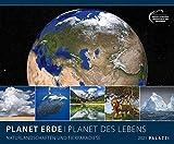 Planet Erde 2021 - Bild-Kalender - Wand-Planer - 60x50: Naturlandschaften und Tierparadiese