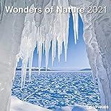 Wonders of Nature 2021 - Wand-Kalender - Broschüren-Kalender - 30x30 - 30x60 geöffnet