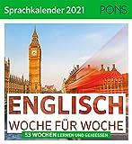 PONS Sprachkalender Englisch 2021: 53 Wochen lernen und genießen
