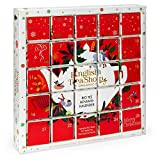 English Tea Shop - Puzzle Tee Adventskalender 'Red Christmas', 25 weihnachtliche Premium BIO Tees