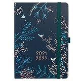 Boxclever Press Enjoy Everyday Kalender 2021 2022 A5. Schülerkalender 2021 2022 von Aug.21-Aug.22. Schulplaner 2021 2022 mit vertikalem Layout. Terminplaner 2021 2022 mit Platz für Zeiten.