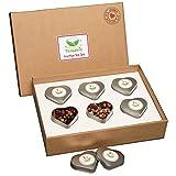 TEALAVIE - 6er Tee-Geschenke-Set - Früchte Tee lose | edle Herz-Teedose für Teeliebhaber | ideal für Dankeschön Geschenke | 60g loser Früchtetee Mischung Mix | Probierset