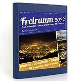 Freiraum-Kalender modern | Barcelona Impressionen, Buchkalender 2022, Organizer (15 Monate) mit Inspirations-Tipps und Bildern, DIN A5