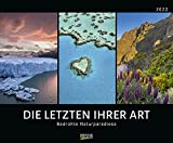 Bedrohte Naturparadiese 2022: Großer Wandkalender mit spektakulären Naturaufnahmen. PhotoArt Kalender. Querformat: 55 x 45,5 cm