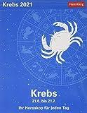 Krebs Sternzeichenkalender 2021 - Tagesabreißkalender mit ausführlichem Tageshoroskop und Zitaten - Tischkalender zum Aufstellen oder Aufhängen - ... Horoskop für jeden Tag 21. Juni bis 21. Juli