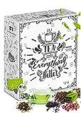 Tee Adventskalender in BIO-Qualität über 260g feinste Teesorten für die Adventszeit I Weihnachtskalender 2020
