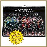 Motorrad Grand Prix Kalender 2022 - Premium Wandkalender - MotoGP
