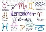 Sternzeichen-Kalender (Wandkalender 2022 DIN A4 quer)