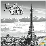 Timeless Visions Kalender 2022 – Deluxe 2022 berühmte europäische Architektur-Wandkalender Bundle mit über 100 Kalenderaufklebern (Schwarz-Weiß-Geschenke, Bürobedarf)
