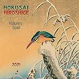 Hokusai/Hiroshige - Nature 2021: Kalender 2021 (Tushita Fine Arts)