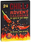 24 Days of Hot Sauce - Chilli Lovers Advent Calendar