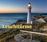 Leuchttürme Kalender 2021, Wandkalender im Querformat (54x48 cm) - Architekturkalender / Landschaftskalender / Küste und Meer