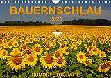 BAUERNSCHLAU 2021 (Wandkalender 2021 DIN A4 quer)