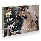 AniForte Adventskalender für Hunde 2021 - Natürliche Hundesnacks getreidefrei   Adventszeit Snacks   Leckerli ohne Farb- und Konservierungsstoffe   Weihnachtskalender mit Zellstoff-Einlage