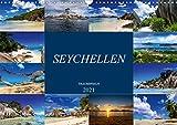 Trauminseln Seychellen (Wandkalender 2021 DIN A3 quer)