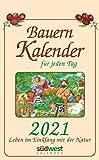 Bauernkalender für jeden Tag 2021 Tagesabreißkalender. Leben im Einklang mit der Natur