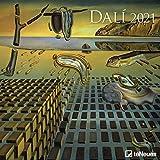 Dali 2021 - Wand-Kalender - Broschüren-Kalender - 30x30 - 30x60 geöffnet - Kunst-Kalender