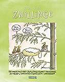 Zwillinge 2022: Sternzeichenkalender-Cartoonkalender als Wandkalender im Format 19 x 24 cm.
