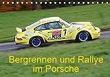Bergrennen und Rallye im Porsche (Tischkalender 2021 DIN A5 quer)