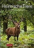 Heimische Tiere Kalender 2021: Wochenplaner, 53 Blatt mit Wochenchronik