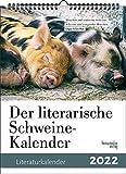 Der literarische Schweine-Kalender 2022
