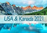 Edition Seidel USA & Kanada Premium Natur Kalender 2021 DIN A3 Wandkalender Amerika Berge Abenteuer Landschaft