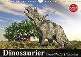 Dinosaurier. Urzeitliche Giganten (Wandkalender 2021 DIN A4 quer)