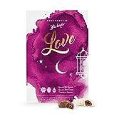 Ramadan Kalender Iftarlender Countdown Iftar Fastentag - Datteln in feinster belgischer Schokolade - Halal und Kosher (Vollmilch/Weisser Schokolade)