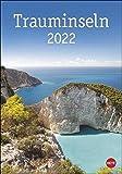 Trauminseln Kalender 2022 - Wandkalender mit Monatskalendarium - mit Platz für Termine und Notizen - 12 Farbfotos - 25 x 33,5 cm