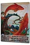 Wandkalender 2019 Jahreskalender Dauerkalender 2020 Kalender 2021 Terminplaner Fotokalender Sternzeichen Retro Krakowski Fische Horoskop Metall Magnet