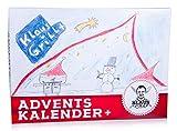 Klaus Grillt Adventskalender 2020 | Gewürzkalender | 31 Gewürze inklusive 6 neue für 2021 | 775g