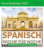 PONS Sprachkalender Spanisch 2021: 53 Wochen lernen und genießen