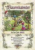 Bauernkalender 2022: Wandkalender mit Bauernweisheiten und passenden Bildern. DIN A3 mit Foliendeckblatt.