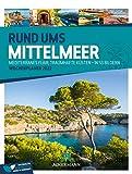 Rund ums Mittelmeer - Wochenplaner Kalender 2022, Wandkalender Italien, Spanien, Griechenland & Co. im Hochformat (25x33 cm) - Reise-Wochenkalender mit Rätseln und Sudokus auf der Rückseite