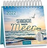 Postkartenkalender Sehnsucht nach Meer 2022: Ein ideales Geschenk für alle, die das Meer lieben oder Fernweh haben