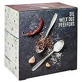 Corasol Premium Salz & Pfeffer Adventskalender 2020 XL, die Gewürz Gourmet Geschenkidee für Männer & Frauen (259 g)