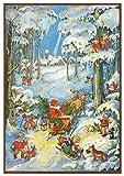 Adventskalender 'Zwerge im Schnee': Papier-Adventskalender