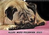 Alles Mops-Kalender 2022 (Wandkalender 2022 DIN A3 quer)