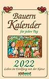 Bauernkalender für jeden Tag 2022 Tagesabreißkalender. Leben im Einklang mit der Natur