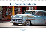 Go west Route 66 (Wandkalender 2021 DIN A4 quer)