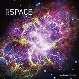 Space 2021 - Broschürenkalender 30x30 cm (30x60 geöffnet) - Bild-Kalender - Wandplaner - mit Platz für Notizen - Alpha Edition