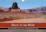 Born to be Wild - Mit der Harley durch den Südwesten der USA (Wandkalender 2021 DIN A4 quer)