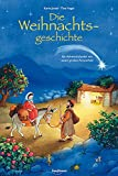 Die Weihnachtsgeschichte: Ein Adventskalender mit einem großen Fensterbild (Adventskalender mit Geschichten für Kinder: Ein Buch zum Vorlesen und Basteln)